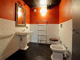 Industrial style bathroom by Vemworks llc Industrial
