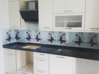 Öztaş Yapı Dekorasyon - Cam mutfak – Tezgah Arası Cam:  tarz Mutfak üniteleri
