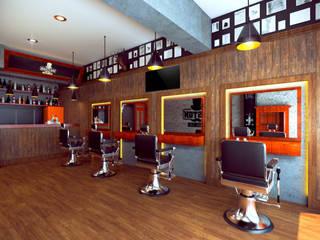 Boston Barber Club de Diseñador Paul Soto Clásico