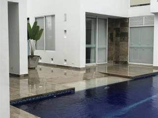 CASAS SIAMESAS ANAPOIMA: Casas multifamiliares de estilo  por RIVAL Arquitectos  S.A.S.
