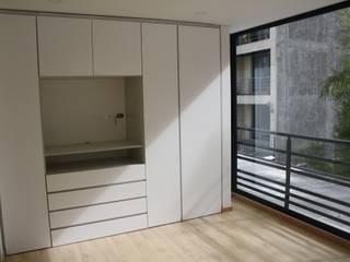 REMODELACION APARTAESTUDIO: Habitaciones de estilo  por RIVAL Arquitectos  S.A.S.