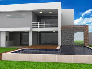 Residencia Condomínio Praia dos Passarinhos: Casas familiares  por Bruno Cardoso Arquitetura