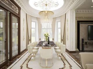 Ruang Keluarga oleh Архитектурное Бюро 'Капитель', Klasik