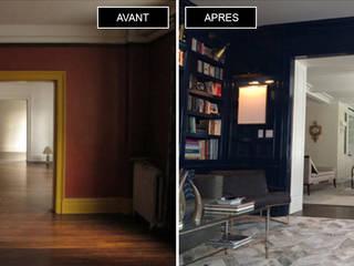 Renovation d'appartement quartier des musiciens:  de style  par Onyx Design