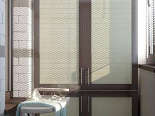 Closets minimalistas por Студия интерьерного дизайна happy.design Minimalista
