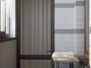 Minimalistische Ankleidezimmer von Студия интерьерного дизайна happy.design Minimalistisch
