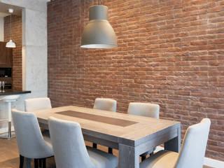 : Столовые комнаты в . Автор – Архитектурная мастерская ПРОЕКТУС, Модерн