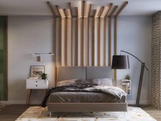 Bedroom โดย Isabel Gomez Interiors โมเดิร์น