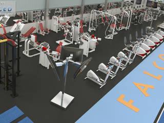 Palestra Falcon Fitness: Negozi & Locali commerciali in stile  di INFO C.E.D.