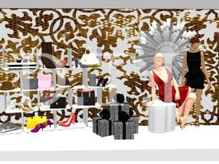 Escaparate navideño tienda de ropa de Diseña tu interior