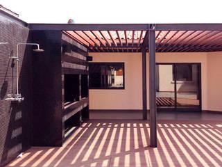 Remodelação de terraço : Terraços  por MOBEC ,Moderno
