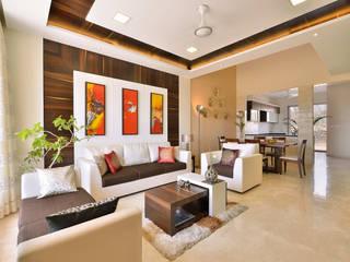 Salas modernas de SAGA Design Moderno