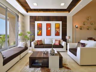 Salas de estilo moderno de SAGA Design Moderno