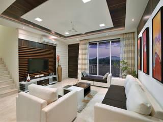 Wohnzimmer von SAGA Design, Modern