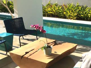 ArboREAL Móveis de Madeira Living roomAccessories & decoration Parket Wood effect