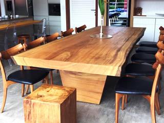 ArboREAL - Mesa de Jantar Rústica:   por ArboREAL Móveis