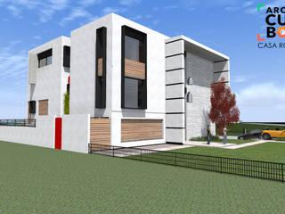 PROYECTO: Casas de estilo minimalista por ArqCubo