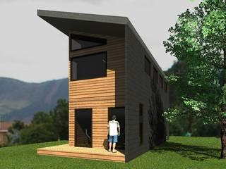 Casa Malalcahuello (2): Casas prefabricadas de estilo  por Casabella