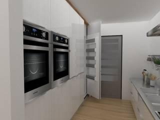 Cocinas de estilo escandinavo por 78metrosCuadrados