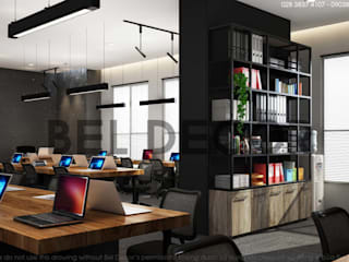 OF1722 Industrial Office Interior Design & Construction/ Bel Decor bởi Bel Decor