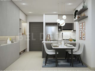 HO1808 Modern Apartment Interior Design/ Bel Decor bởi Bel Decor