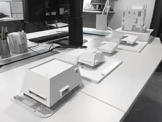 [동탄 주차장빌딩] 모델스터디: 더그라운드 건축 The ground Architects의