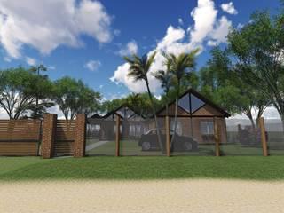 Casa Gimenez: Casas unifamiliares de estilo  por Estudio Schwartz Arquitectura