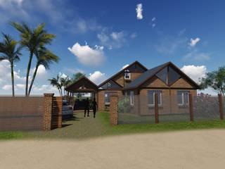 Casa Markman: Casas unifamiliares de estilo  por Estudio Schwartz Arquitectura