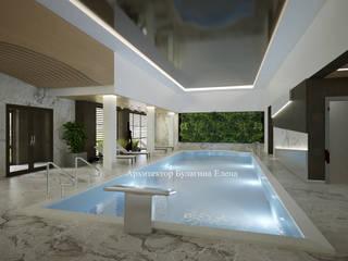 Pool by Архитектурное Бюро 'Капитель', Eclectic