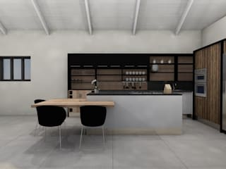 Kitchen Design - The Aloes Estate #003 by LINE Creative Interiors