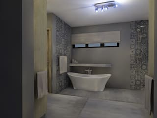 Bathroom Design - House Booysen by LINE Creative Interiors