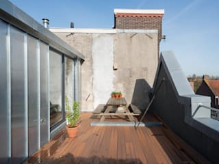Lean-to roof by Kevin Veenhuizen Architects