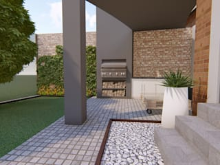 Patio Design - House Le Roux by LINE Creative Interiors