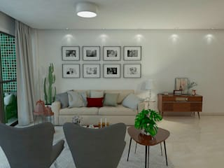 Classic style living room by Jéssika Martins Design de Interiores Classic