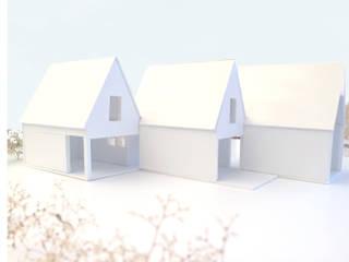 Concept models:   door Kevin Veenhuizen Architects