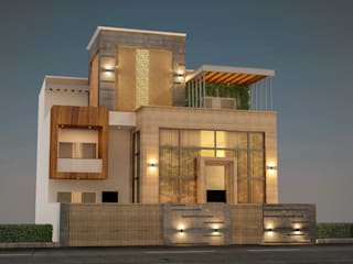 Villa at sector 15, Gurgaon by Form & Function Modern