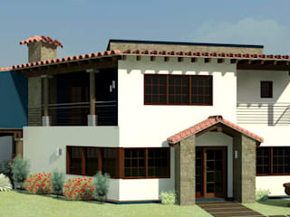 Arq. Rodrigo Culebro Sánchez Rustic style houses