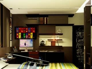 Dormitorios de estilo moderno de IEZ Design Moderno