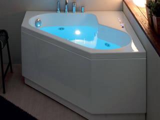 Vasca da bagno moderna con idromassaggio:  in stile  di Jo-Bagno.it