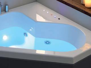 Vasca da bagno con cromoterapia:  in stile  di Jo-Bagno.it