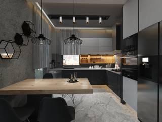 Adalya İç Mimarlık – Fahrettin Özün Villa: minimalist tarz , Minimalist