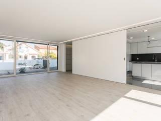 AR1 Salas de estar modernas por Antunarqui Unip Lda Moderno
