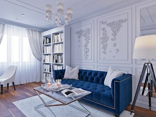 Гостевая комната: Спальни в . Автор – r-interiors