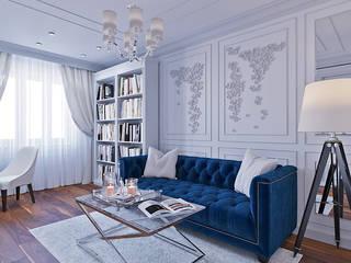ЖК Яуза Парк: Спальни в . Автор – r-interiors,