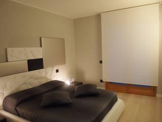 interior design, tendaggi, tappeti e complementi d'arredo zinesi design Camera da letto moderna