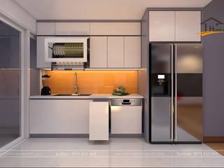 Cozinhas embutidas  por THIẾT KẾ HOMEXINH,