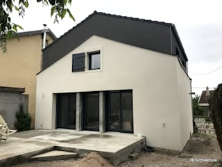 3B Architecture Single family home Grey