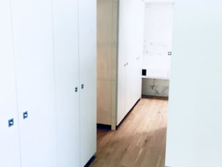 3B Architecture Modern dressing room Wood-Plastic Composite White