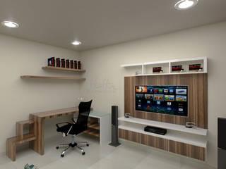 Area de estudio1:  de estilo  por Pinto Arquitectura