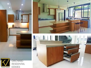 Modern Modular Kitchen:  Kitchen by Kat Interior and Design